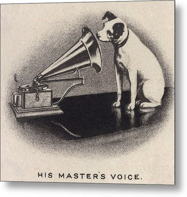 His Masters Voice, Originally Metal Print