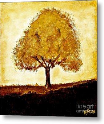 His Tree Metal Print by Marsha Heiken