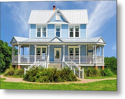 Metal Print featuring the photograph Historic 1800s Valentine House  -   1800svalentinehouse135435 by Frank J Benz