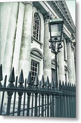 Historic Architecture Detail Metal Print by Tom Gowanlock