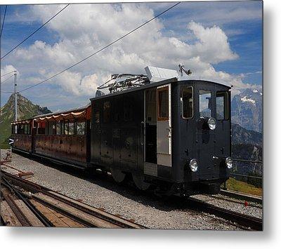Historic Cogwheel Train  Metal Print