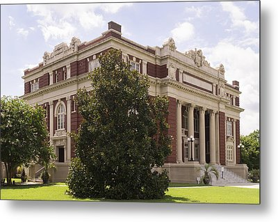 Historic Dillon County Sc Courthouse Metal Print
