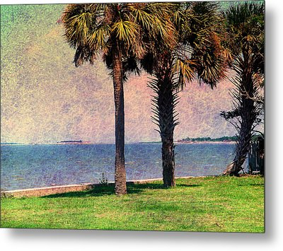 Historic Fort Sumter Charleston Sc Metal Print by Susanne Van Hulst