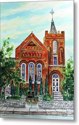 Historic Franklin Presbyterian Church Metal Print
