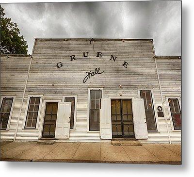 Historic Gruene Hall Metal Print by Stephen Stookey