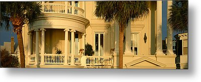 Historic Home On Battery Street Metal Print by Panoramic Images