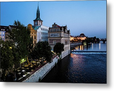 Historic Prague Metal Print