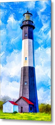 Historic Tybee Island Lighthouse Metal Print by Mark E Tisdale