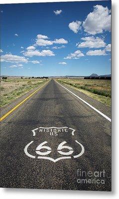Historica Us Route 66 Arizona Metal Print