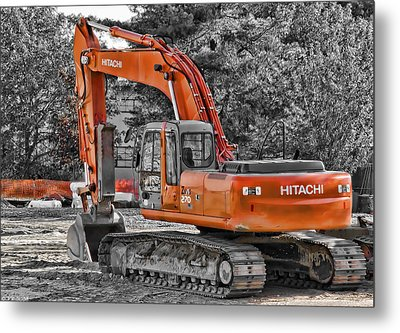 Hitachi Zaxis 270 Metal Print