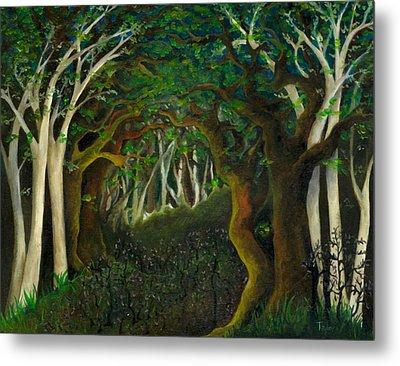 Hobbit Woods Metal Print