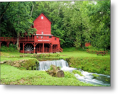 Metal Print featuring the photograph Hodgson Water Mill by Cricket Hackmann
