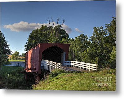 Roseman Covered Bridge Metal Print by Thomas Danilovich