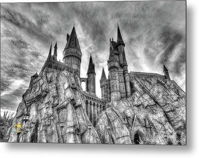 Hogwarts Castle 1 Metal Print