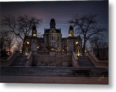 Hogwarts - Hall Of Languages Metal Print