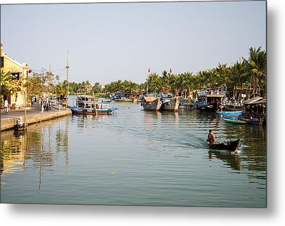 Hoi An River Metal Print