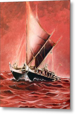 Hokulea Metal Print by Angela Treat Lyon