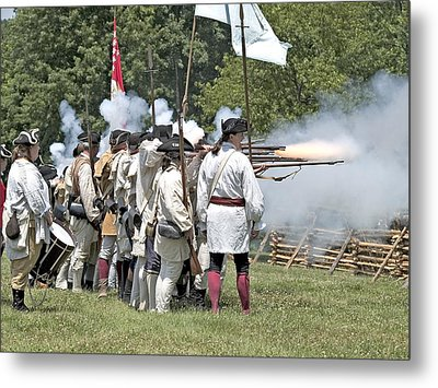 Hold The Line Metal Print