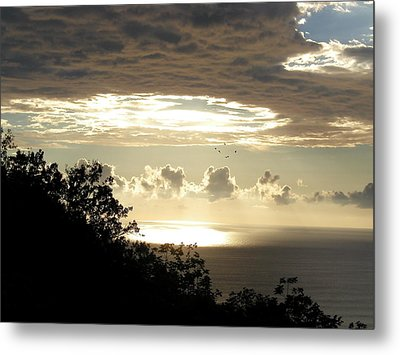 Hole In The Sky Metal Print by Gregory Young