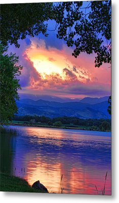 Hole In The Sky Sunset Metal Print by James BO  Insogna