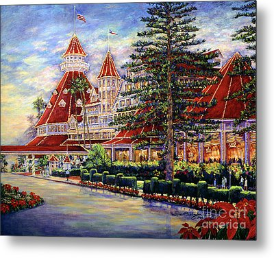 Holiday Hotel 2 Metal Print