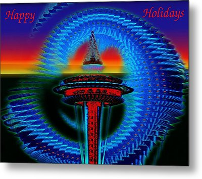 Holiday Needle 2 Metal Print by Tim Allen