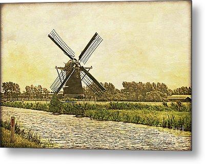 Holland - Windmill Metal Print