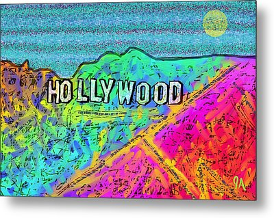 Hollycolorwood Metal Print