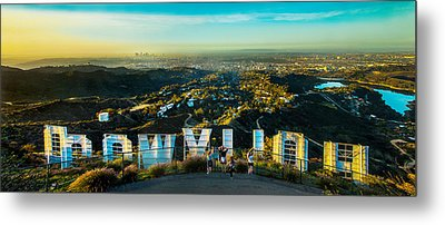 Hollywood Dreaming Metal Print by Az Jackson