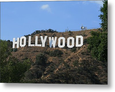 Metal Print featuring the photograph Hollywood by Marna Edwards Flavell