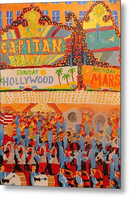 Hollywood Parade Metal Print by Rodger Ellingson
