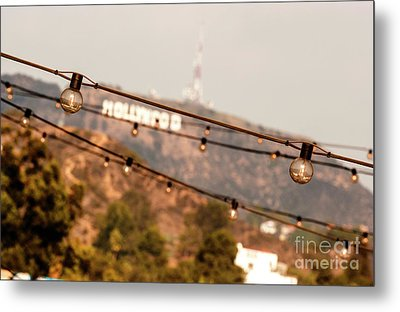 Metal Print featuring the photograph Hollywood Sign On The Hill 2 by Micah May