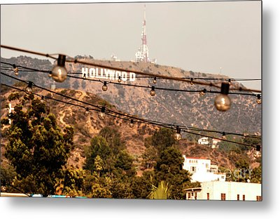 Metal Print featuring the photograph Hollywood Sign On The Hill 3 by Micah May