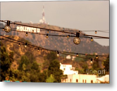 Metal Print featuring the photograph Hollywood Sign On The Hill 5 by Micah May