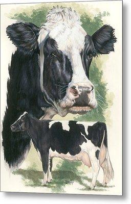 Holstein Metal Print by Barbara Keith