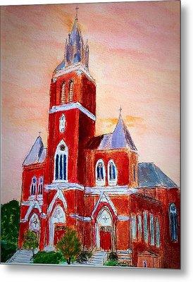 Holy Family Church Metal Print