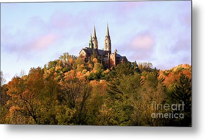 Holy Hill Basilica, National Shrine Of Mary Metal Print by Ricky L Jones