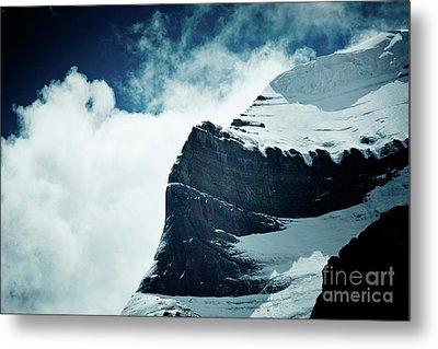 Holy Kailas West Slop Himalayas Tibet Artmif.lv Metal Print