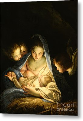 Holy Night Metal Print by Carlo Maratta