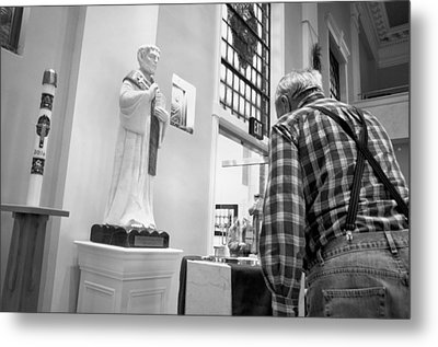 Metal Print featuring the photograph Holy Water by Jeanette O'Toole