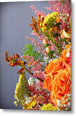 Metal Print featuring the photograph Holy Week Flowers 2017 3 by Sarah Loft