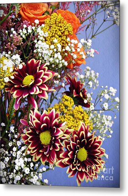 Metal Print featuring the photograph Holy Week Flowers 2017 4 by Sarah Loft