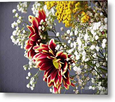 Metal Print featuring the photograph Holy Week Flowers 2017 5 by Sarah Loft