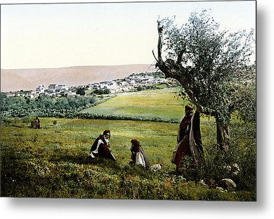 Holyland - Cana Of Galilee  Metal Print by Munir Alawi