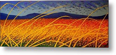 Homage To Van Gogh Metal Print by John  Nolan