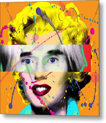 Homage To Warhol Metal Print by Gary Grayson