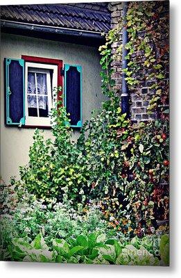 Home And Garden Schierstein 8   Metal Print by Sarah Loft