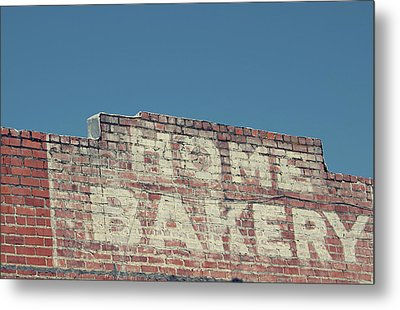 Home Bakery- Photo By Linda Woods Metal Print by Linda Woods