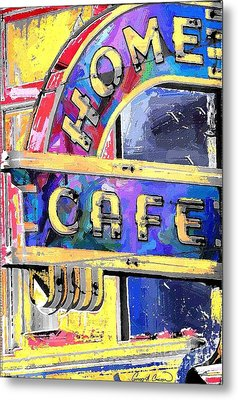 Home Cafe Metal Print by Gary Carson