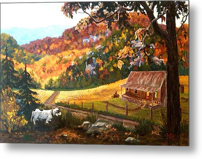Home From The Hunt Metal Print by Nyiece Pregeant Owens